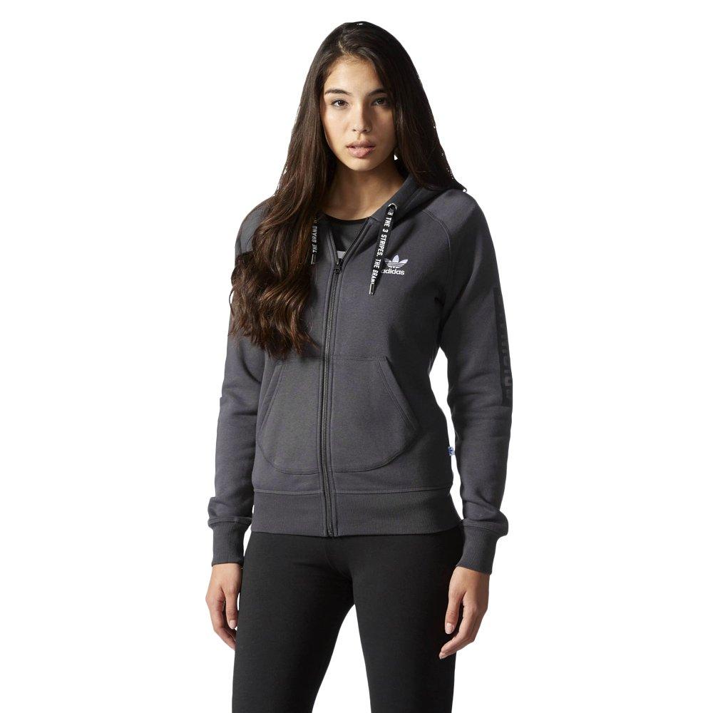 83b2c81d5 ... Bluza Adidas Originals Hoodie damska dresowa sportowa rozpinana z  kapturem ...