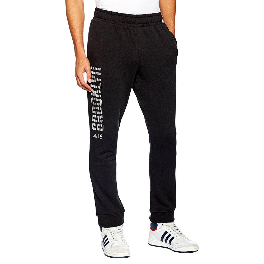 c2a1c586ca31fc ... Spodnie Adidas Fan Wear Brooklyn Nets męskie dresy sportowe ...