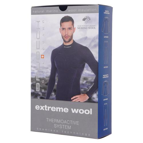 Bielizna termoaktywna Brubeck Merino Extreme Wool Top męska koszulka z długim rękawem termiczna