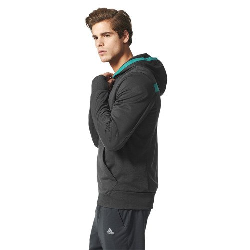 Bluza Adidas Beyond The Run męska do biegania z kapturem
