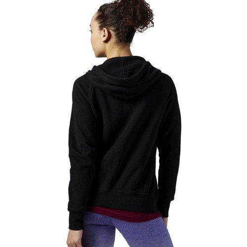Bluza Reebok EL FullZip Fleece damska rozpinana sportowa z kapturem