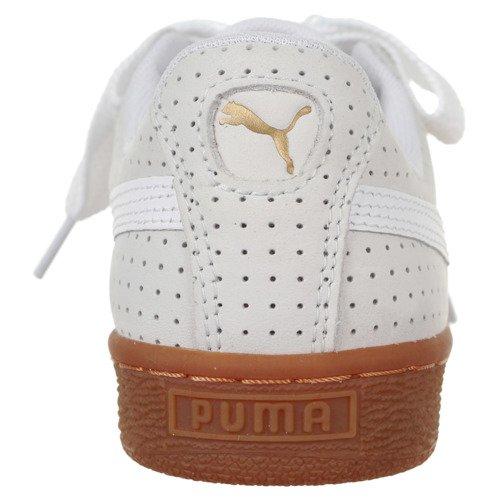 Buty Puma Basket Heart Perforated Gum damskie sportowe skórzane