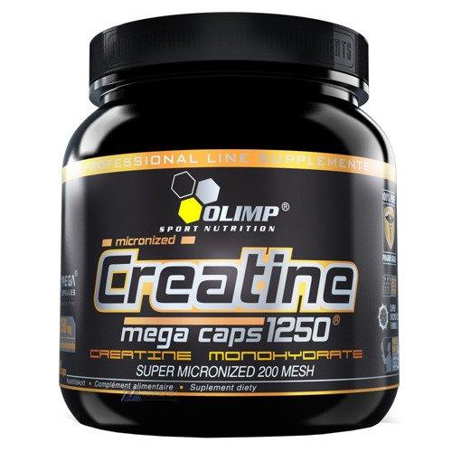 CREATINE Mega Caps 1250 400-kapsułek kreatyna