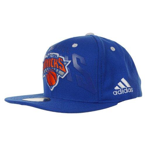 Czapka z daszkiem Adidas NBA Flat Cap New York Knicks Anthem unisex sportowa