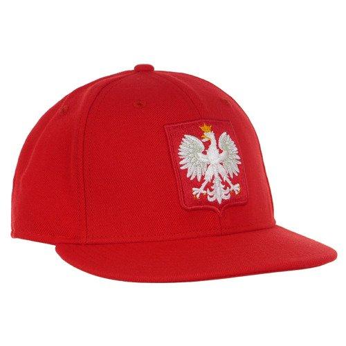 Czapka z daszkiem Nike Polska PZPN Fullcap kibica bejsbolówka sportowa