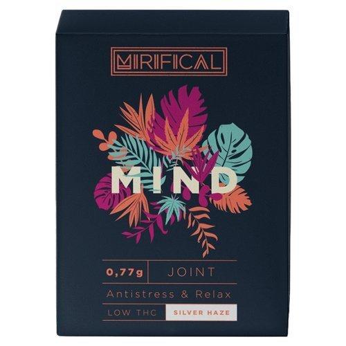 Komplet 5 Joint'ów Mirifical Pre-Rolls Premium CBD 0,7g Silver Haze Mind