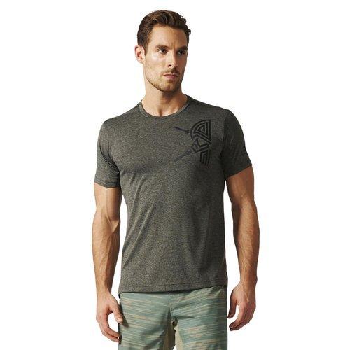 Koszulka Adidas FreeLift Tri-Color męska t-shirt sportowy termoaktywny