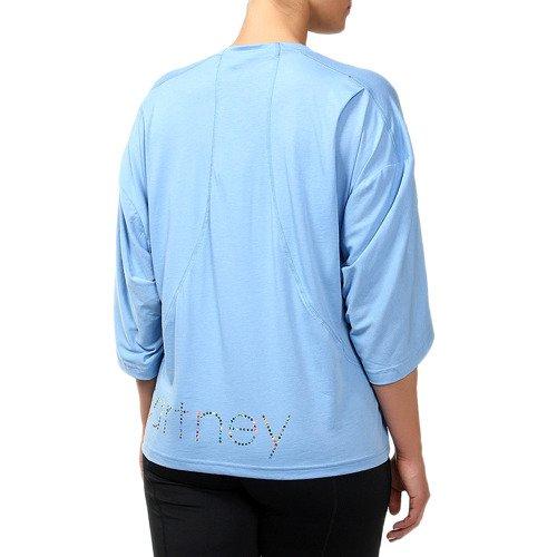 Koszulka Adidas Stella McCartney ES Logo damska t-shirt sportowy