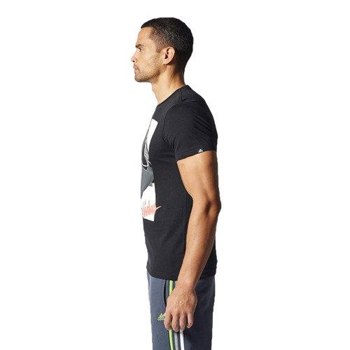 Koszulka Adidas Workout Girl męska t-shirt sportowy termoaktywny