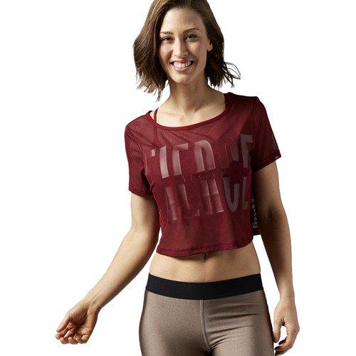 Koszulka Reebok Cardio Mesh damska top sportowy z siateczki