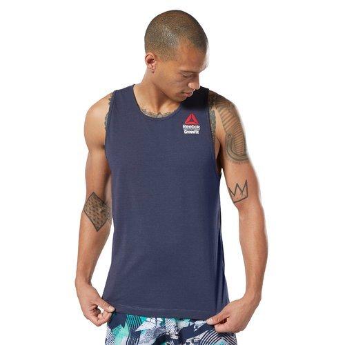 Koszulka Reebok CrossFit ActivChill męska termoaktywna bezrękawnik sportowy
