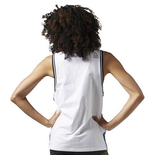 Koszulka Reebok LTHS Sequins damska sportowa top cekiny