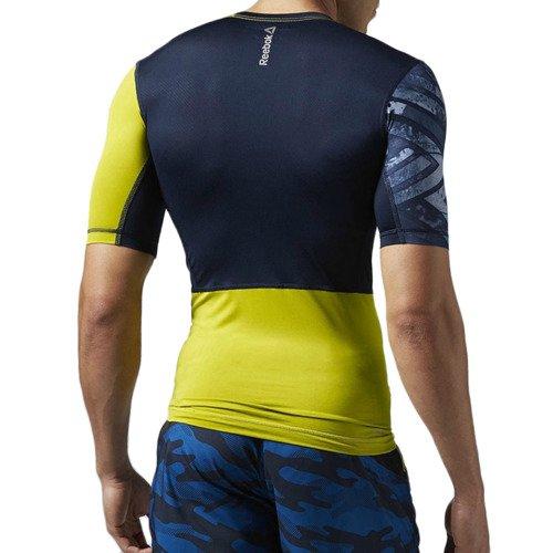 Koszulka Reebok One Series męska kompresyjna termoaktywna na siłownie