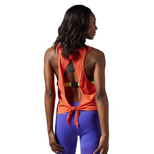 Koszulka Reebok Tie Back damska top sportowy wiązany tył