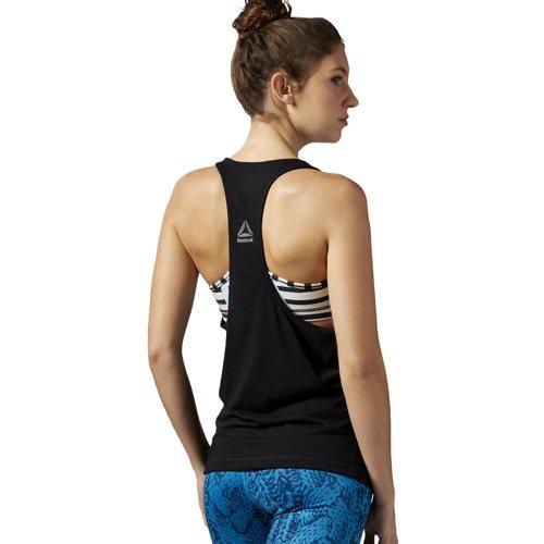 Koszulka Reebok Yoga Rabbit damska bokserka top termoaktywny