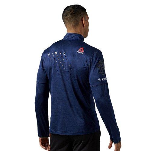 Koszulka z długim rękawem Reebok One Series Run 1/4 Zip męska termoaktywna