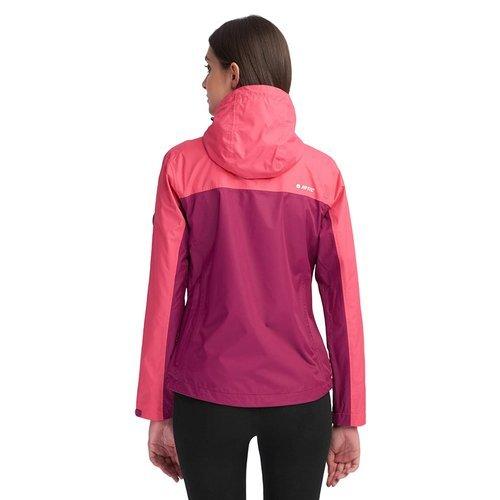 Kurtka Hi-Tec Lady Monis damska sportowa trekkingowa outdoor softshell z kapturem