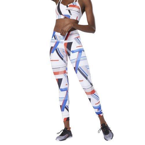 Legginsy Reebok One Series Lux Bold damskie getry sportowe termoaktywne