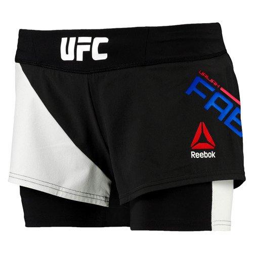Spodenki Reebok Combat UFC Fan Octagon Short Urijah Faber damskie sportowe treningowe