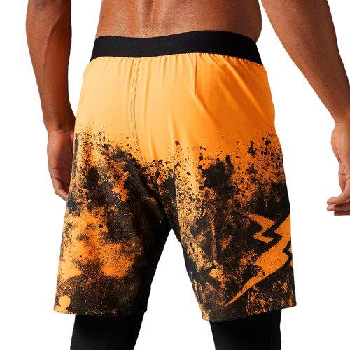 Spodenki Reebok CrossFit Splatter Short męskie sportowe termoaktywne