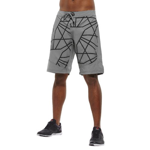 Spodenki Reebok Les Mills Board Short męskie sportowe termoaktywne treningowe
