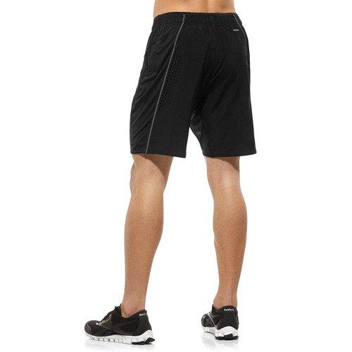 Spodenki Reebok OSR 2w1 męskie sportowe termoaktywne do biegania