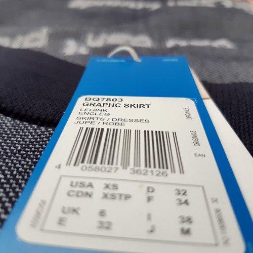 Spódnica Adidas Originals Graphic Skirt damska midi ołówkowa