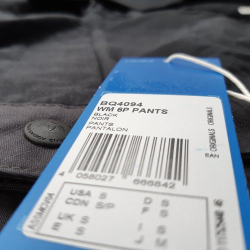 Spodnie Adidas Originals White Mountaineering 6 Pocket męskie sportowe