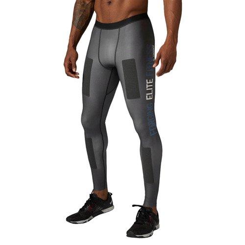 Spodnie Reebok CrossFit Kevlar męskie getry kompresyjne termoaktywne
