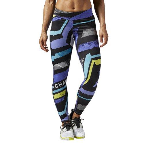 Spodnie Reebok One Series damskie dwustronne legginsy getry sportowe do biegania